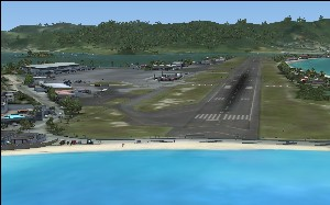 Leeward Islands - TNCM, TFFJ, TNCS, SABA - Microsoft Flight