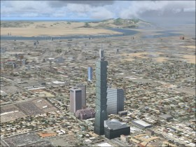 Skyscrapers and towers - Microsoft Flight Simulator X - FSX