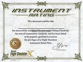 Filedesigner for First flight certificate template